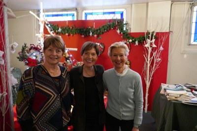 Frédérique K, Marie Christine de M et Marik B vente 2017